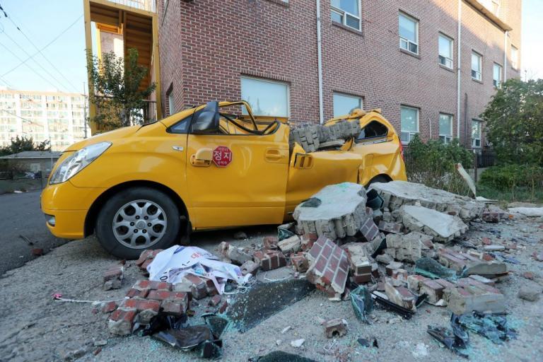 60 τραυματίες από τον σεισμό στη Νότια Κορέα – 1.500 έμειναν «άστεγοι» [pics]