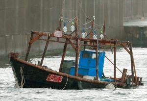Θρίλερ με οκτώ Βορειοκορεάτες στην Ιαπωνία – Ψαράδες ή κατάσκοποι; [pics]