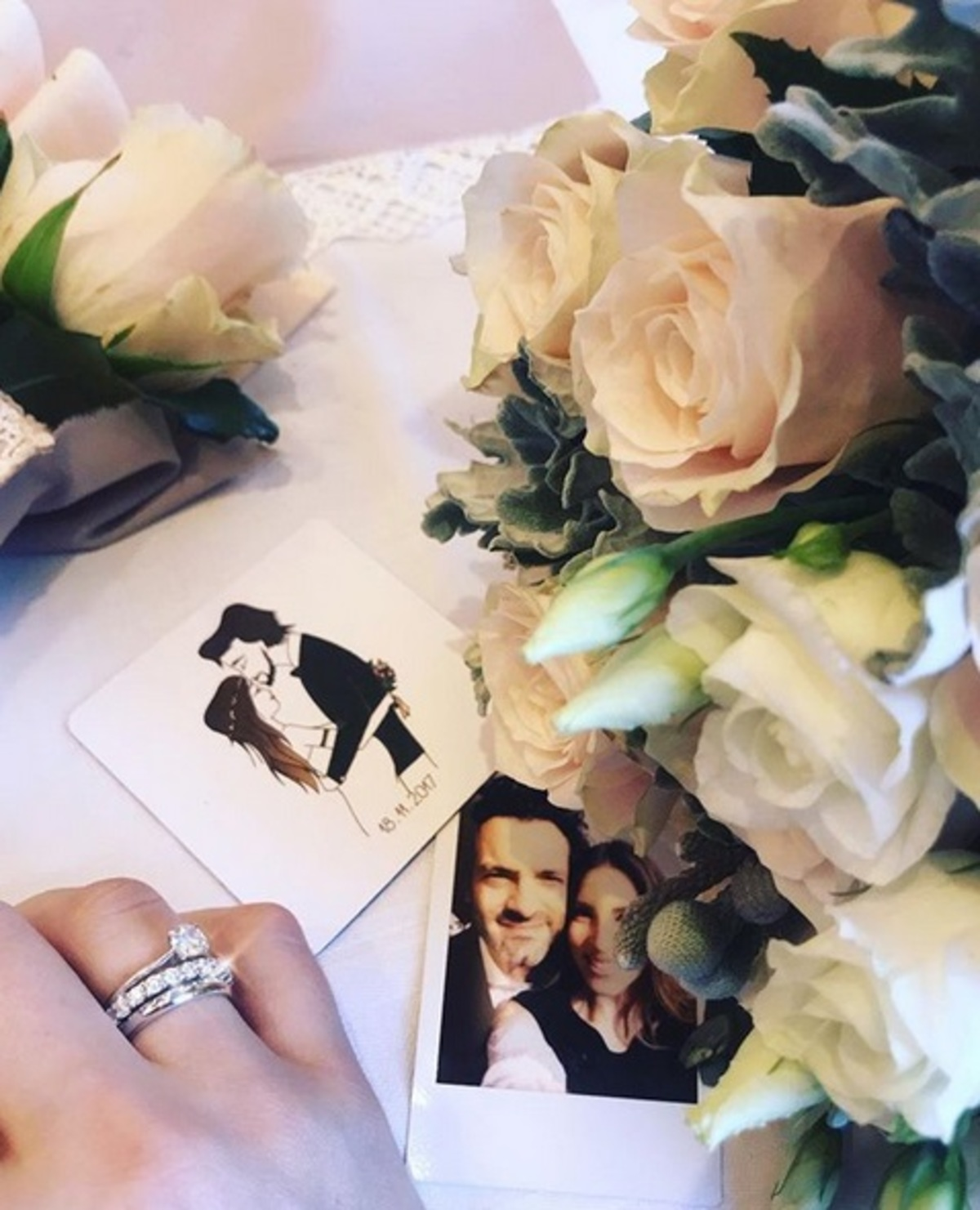 Αθηνά Οικονομάκου: Το πρώτο μήνυμα μετά το γάμο της με τον Φίλιππο Μιχόπουλο | Newsit.gr