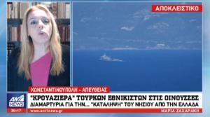 Κρουαζιέρα Τούρκων εθνικιστών στις Οινούσες