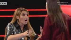 The Voice: «Δεν το πιστεύω» φώναζε η Παπαρίζου όταν πλησίασε την παίκτρια! [vid]