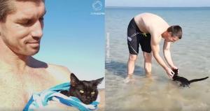 Ποιος είπε ότι στις γάτες δεν αρέσει το νερό…