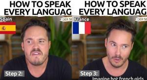 Ένα ξεκαρδιστικό βίντεο δείχνει πώς να μιλάτε οποιαδήποτε γλώσσα