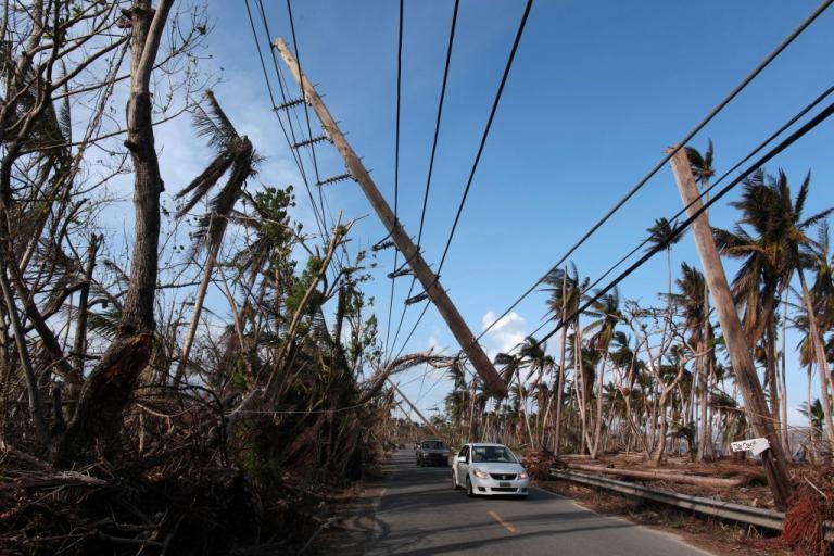 Ο κυκλώνας Μαρία θα «αφανίσει» το Πουέρτο Ρίκο!