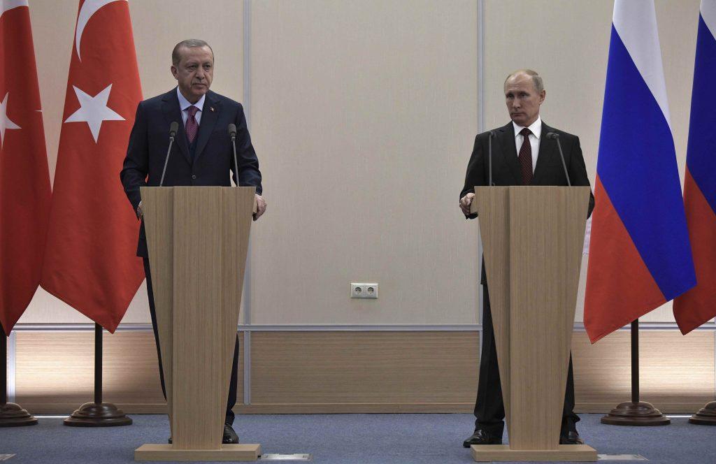 Πούτιν Τουρκία Ερντογάν πυρηνικό εργοστάσιο