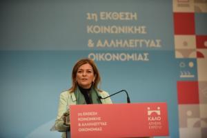 Αντωνοπούλου: 260.000 άνεργοι βρήκαν δουλειά επί των «ημερών» του ΣΥΡΙΖΑ