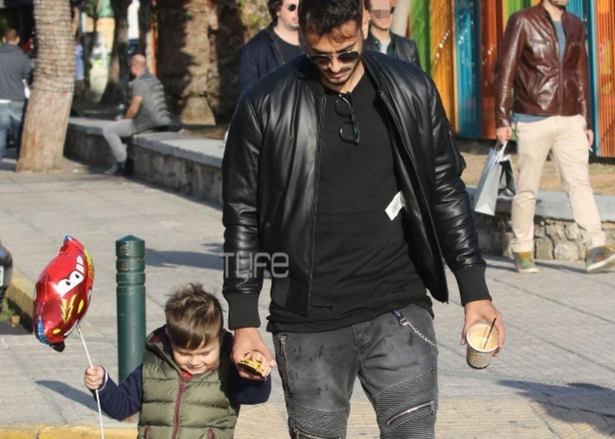 Σάββας Γκέντσογλου: Βόλτα με τον γιο του χωρίς την Αγγελική Ηλιάδη [pics] | Newsit.gr
