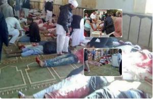 Αίγυπτος: Αίμα και όλεθρος «βασιλεύουν» στο Βόρειο Σινά – Εκατοντάδες νεκροί από την χωρίς προηγούμενο τρομοκρατική επίθεση