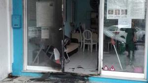 Έκρηξη σε γραφεία του Αρτέμη Σώρρα [pics]