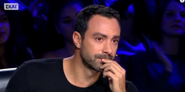 Ελλάδα έχεις ταλέντο: Η στιγμή που «λύγισε» ο Σάκης Τανιμανίδης   Newsit.gr