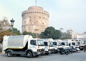 Θεσσαλονίκη: Κόντρες για τη συντήρηση των οχημάτων καθαριότητας στον κεντρικό δήμο