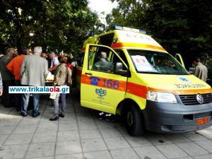 Τρίκαλα: 13χρονη έπεσε από τον 2ο όροφο και σώθηκε