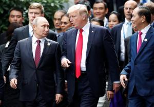 Κοινή δήλωση Τραμπ – Πούτιν για την Συρία