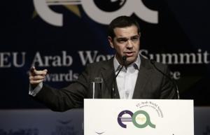 Τσίπρας: Η Ελλάδα έχει διαβεί το Ρουβίκωνα της κρίσης – Ελάτε να επενδύσετε εδώ
