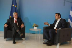 Συνάντηση Τσίπρα – Γιούνκερ για τις καταστροφές στην Δυτική Αττική