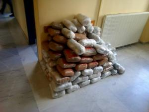 Ήπειρος: Καταδίωξη αυτοκινήτου με 118 κιλά κάνναβης! Ακινητοποιήθηκε μετά από τροχαίο