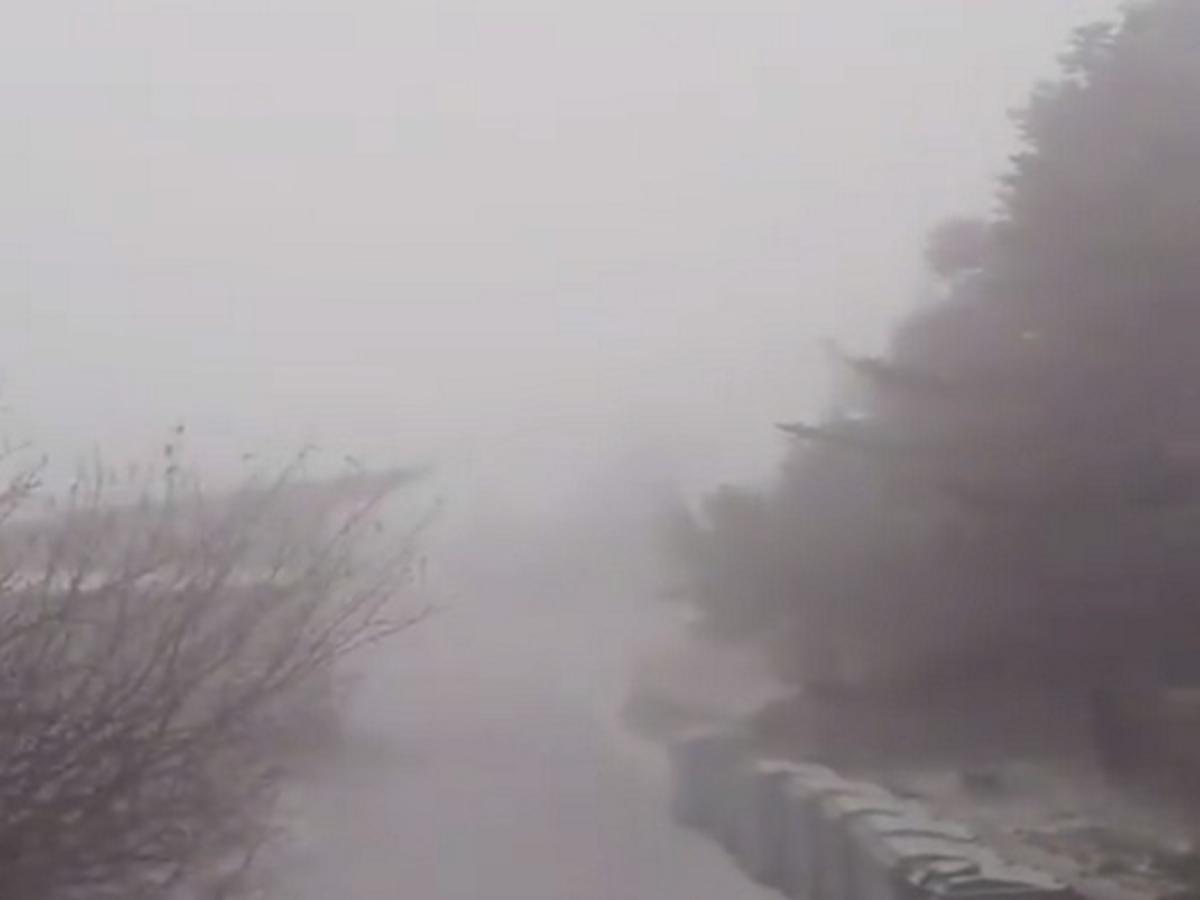 Καιρός: Εντυπωσιακό βίντεο από την χιονοθύελλα στην Πάρνηθα | Newsit.gr
