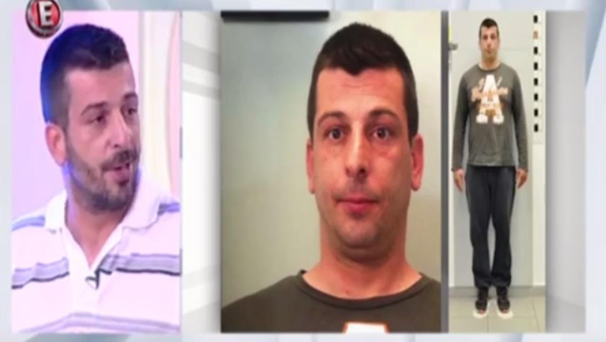Ο «χοντρός» που κατηγορείται για «σκληρές» ληστείες βγήκε στην τηλεόραση πριν παραδοθεί