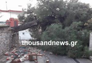 Θεσσαλονίκη: Περπατούσαν και είδαν μπροστά στα μάτια τους να διαμορφώνεται αυτή η εικόνα [pics]