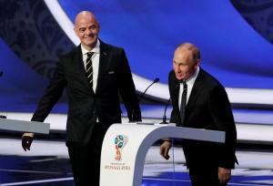 Μουντιάλ 2018: Παρουσία του Πούτιν η κλήρωση – Οι όμιλοι
