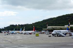 Δεν προσγειώθηκε αεροπλάνο στο αερόδρομιο »Διαγόρας» στη Ρόδο
