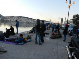 Μυτιλήνη: Έληξε η κατάληψη στα γραφεία του ΣΥΡΙΖΑ – Έφυγαν και οι τελευταίοι Αφγανοί μετανάστες!