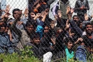 Μυτιλήνη: Αναχώρησαν για τον Πειραιά 344 πρόσφυγες και μετανάστες