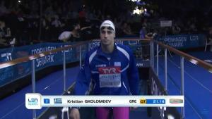 Νέο Πανελλήνιο ρεκόρ και 6η θέση στα 50μ. ελεύθερο ο Γκολομέεβ