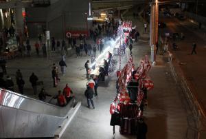 Ολυμπιακός – Γιουβέντους: «Μας έστησαν ενέδρα στο Γ. Καραϊσκάκης»