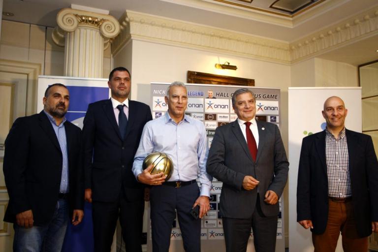Γκάλης: Τιμούν τον «θεό» του μπάσκετ | Newsit.gr