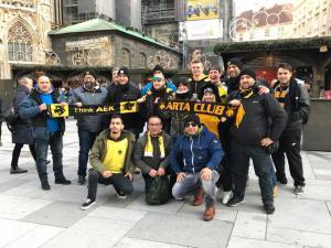 Αούστρια – ΑΕΚ: Η Βιέννη στα κιτρινόμαυρα [pic]
