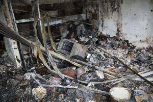 Λάρισα: Μεγάλες καταστροφές από πυρκαγιά σε σπίτι στον Μόδεστο