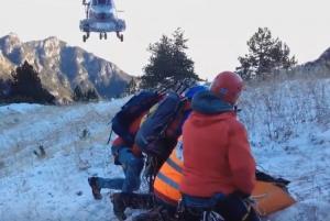 Βίντεο από τη δύσκολη επιχείρηση διάσωσης στον Όλυμπο