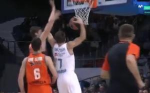 Euroleague – Ρεάλ: Αποβλήθηκε ο Ντόντσιτς και «τρελάθηκε» [vid]