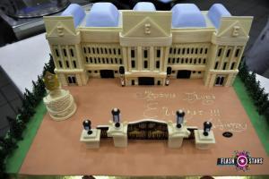 Πάτρα: Το παλάτι του Μπάκιγχαμ σε τούρτα βάρους 38 κιλών – Η απίθανη δημιουργία [pics]