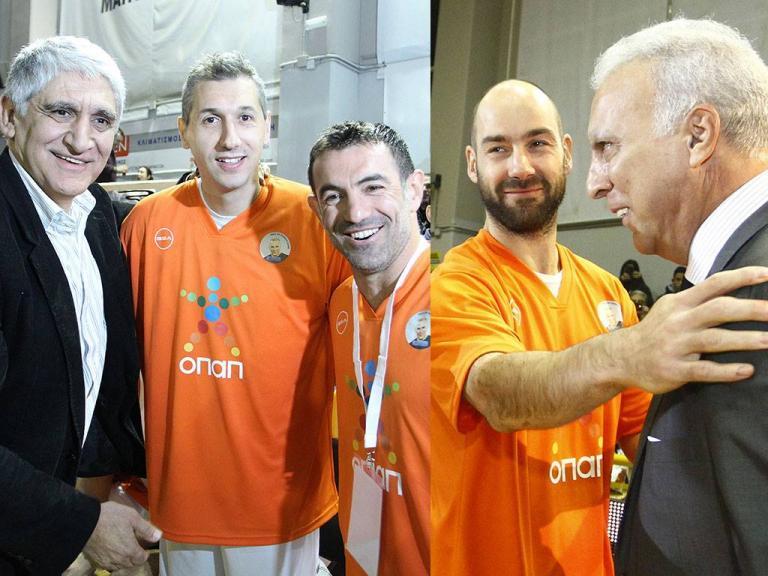 Γκάλης: Σπανούλης, Διαμαντίδης, Καραγκούνης και Γιαννάκης τίμησαν τον «γκάνγκστερ» [pic] | Newsit.gr