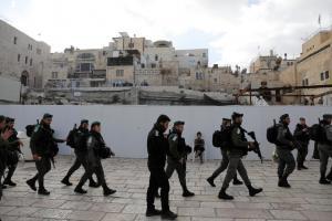 «Βράζει» η Ιερουσαλήμ: Αυξημένα μέτρα ασφαλείας για την προσευχή της Παρασκευής