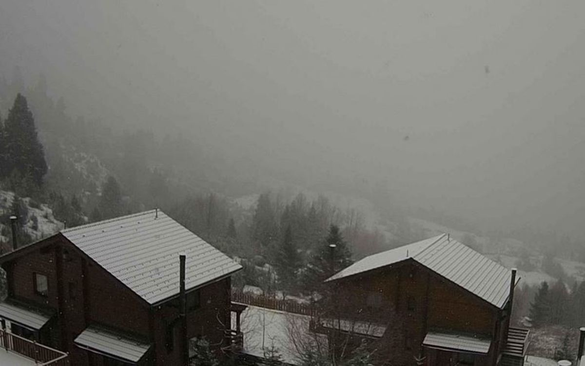 KAM4 - Καιρός live: Ζωντανή εικόνα από 12 κάμερες - χιονια, καμερες, καιρός