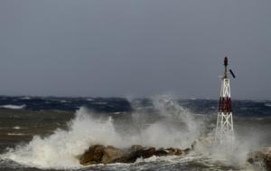 Καιρός: Δεμένα τα πλοία στο Ιόνιο – Η κακοκαιρία είναι εδώ