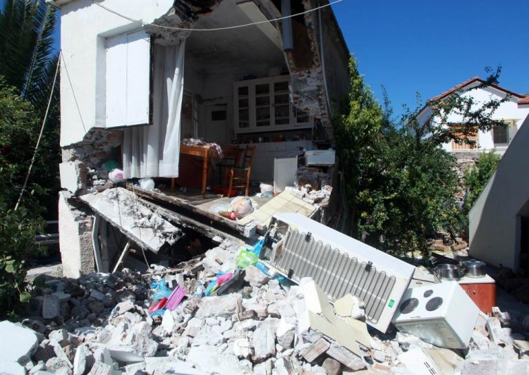 Ενίσχυση 1,3 εκατ. ευρώ από την Κομισιόν για τον σεισμό στην Λέσβο   Newsit.gr