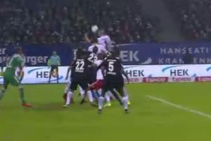 """Αμβούργο: """"Κάρφωσε"""" δυο γκολ ο Παπαδόπουλος, """"πιάστηκε"""" το ένα! [vid]"""