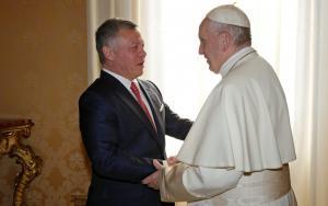 Πάπας και βασιλιάς της Ιορδανίας συζήτησαν για την Ιερουσαλήμ