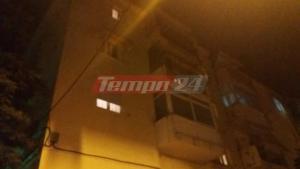 Πάτρα: Άνδρας έπεσε από τον τρίτο όροφο [vid]