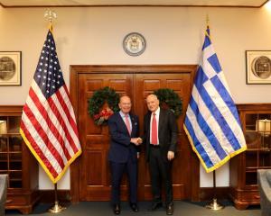 Συνάντηση Δημήτρη Παπαδημητρίου με τον Υπουργό Εμπορίου των ΗΠΑ