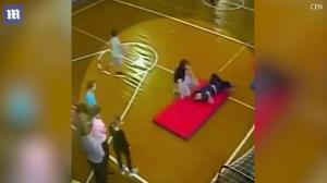 Έσπασε τη σπονδυλική του στήλη σε σχολική άσκηση [vid]