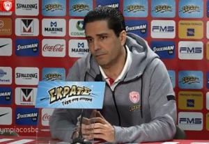 Ολυμπιακός – ΤΣΣΚΑ, Σφαιρόπουλος: «Να πεισμώσουμε για να καλύψουμε τις απουσίες»