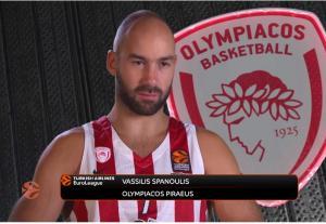 Ολυμπιακός – Αφιέρωμα της Euroleague σε Σπανούλη: «Νιώθω ευλογημένος…» [vid]