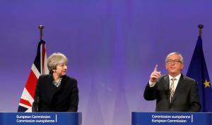 Συνάντηση Γιούνκερ – Μέι: Χωρίς τελική συμφωνία για το Brexit
