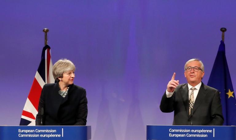 Συνάντηση Γιούνκερ – Μέι: Χωρίς τελική συμφωνία για το Brexit   Newsit.gr