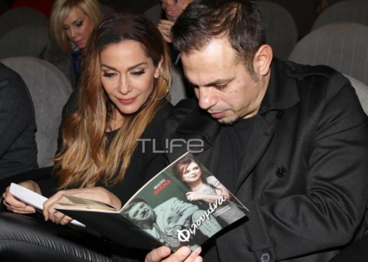 Δέσποινα Βανδή – Ντέμης Νικολαΐδης: Ερωτευμένοι στο θέατρο! [pics] | Newsit.gr